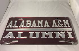 of alabama alumni car tag alabama a m alumni license plate brothers and