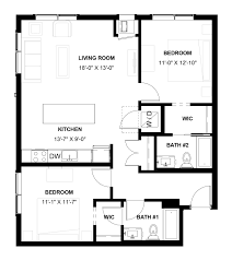 whitter neighborhood apartment floorplans chroma