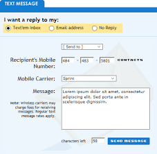 10 to send free text messages to cell phones sms