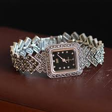 silver bracelet watches images New limited edition classic elegant s925 silver pure thai silver jpg