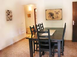 Bungalow Dining Room by Bungalows Dunas Bungalows Dunas Holiday Home Next To The