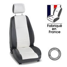 housses si es auto sur mesure auto sur mesure 3 sièges avant fiat multipla tuning noir et blanc