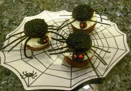 Spider Cakes For Halloween Last Minute Cupcake Decorating Ideas Desserts