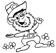 leprechaun coloring pages printable free girl leprechaun coloring pages idea leprechaun coloring pages to