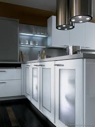 Glass Shelves Kitchen Cabinets Frosted Glass Cabinet Doors And Lighted Shelves Alno Com Kitchen