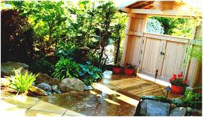 Backyard Patio Landscaping Ideas by Backyards Charming Garden Design With Landscaping Privacy