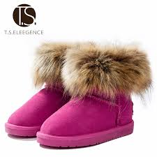 s boots with fur t s boots winter shoes warm ankle boots fur
