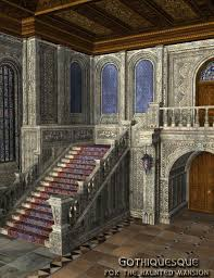 gothiquesque for the haunted mansion 3d models and 3d software