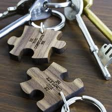 love key rings images Personalised romantic jigsaw piece keyrings buy from jpg