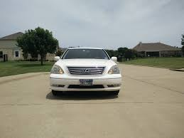 vip lexus ls430 interior tx 2004 lexus ls430 white with saddle interior clublexus