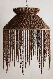Beaded Chandelier Diy Hand Beaded Vara Chandelier Anthropologie