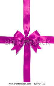 purple satin ribbon shiny purple satin ribbon on white stock illustration 426151174