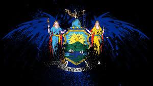New Yorks Flag Eagles Hawk Flags Usa New York City State Wallpaper Allwallpaper