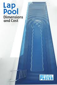 lap pool dimensions and cost lap pools