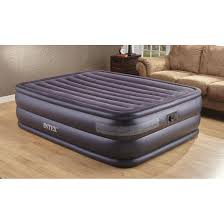 intex queen air bed mattress with built in electric pump 115699