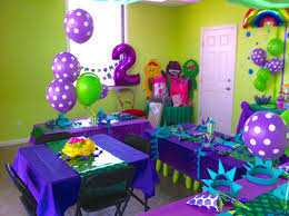 Barney And Friends Birthday Party Decorations — CRIOLLA Brithday