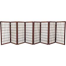 rustic room divider amazon com oriental furniture 3 ft tall window pane shoji screen