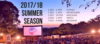 Outdoor Cinema Botanical Gardens Adelaide S Moonlight Cinema Botanic Park 1 Dec 2017 18 Feb