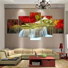 Posters For Living Room waterfall art promotion shop for promotional waterfall art on