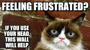 Brick Wall Meme - frustrated try this brick wall on memegen