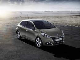 peugeot silver new peugeot 208 a splash of style with innovative world first