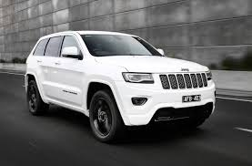 jeep cherokee trailhawk white jeep grand cherokee 2017 summit and trailhawk models revealed