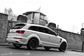 audi q7 modified a kahn design introduces the 2011 audi q7 in black and white