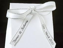 personalized wedding ribbon personalised wedding ribbon wedding ideas wedding