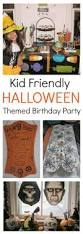 halloween themed birthday party