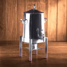 coffee urn rental polished chrome coffee urn 50 cup rental houston peerless events