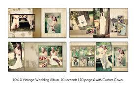 vintage wedding albums psd wedding album template vintage 10x10 by katieanndesigns