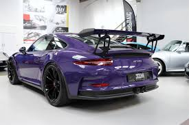 porsche purple used 2015 porsche 911 gt3 991 gt3 rs pdk for sale in kings