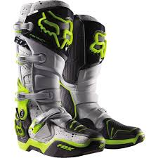 motocross bike boots fox 2016 a1 le instinct grey boots mxstore picks protective
