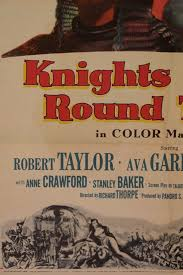 Knights Of The Round Table 1953 Knights Of The Round Table U201d Movie Poster