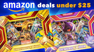 amazon black friday deals for pokemon packs amazon deals 2 pokemon ex boxes under 25 charizard ex