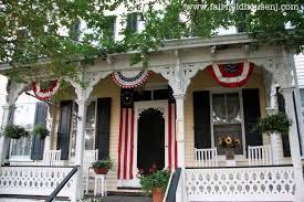 farmhouse porches a favorite outdoor space a patriotic farmhouse front