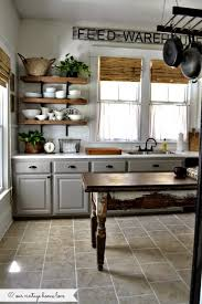 Rustic Farmhouse Kitchens - rustic diy to try for a farmhouse kitchen rustic crafts u0026 chic decor