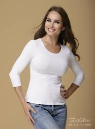 d d dd basic top in white tops that flatter big busted women