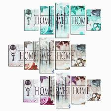 home sweet home decoration sweet home 3d diy diamond painting 5pcs multi pictures combination