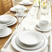 royal worcester platinum dinner service 30 piece set tableware