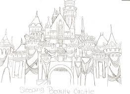 sleeping beauty castle by leaangel19 on deviantart