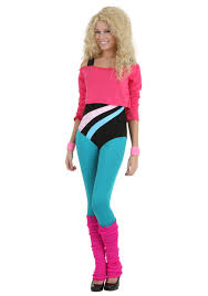 ladies halloween tights women u0027s 80 u0027s workout 80s theme halloween costumes and