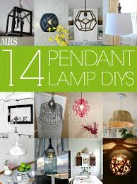 Diy Hanging Light Fixtures Remodelaholic 14 Great Diy Pendant Lights And Link
