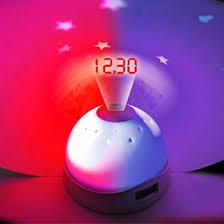 light projection alarm clock colour changing star projection alarm clock find me a gift