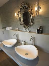bathroom sink design ideas modern his and sinks bath fixerbath fixer intended for his and