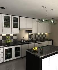 black and white kitchens ideas black and white kitchen tile ideas home intercine