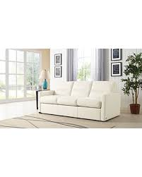 Queen Sleeper Sofa Leather by Holiday Special Galileo Cream Leather Queen Sleeper Sofa