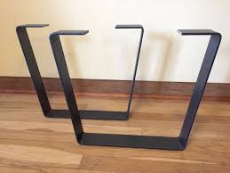 Modern Metal Furniture Legs by Metal Coffee Table Legs W Clearcoat Steel Flatbar Modern