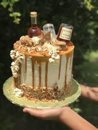 Liquor Bottle Cake Decorations This Is A Red Velvet Hennessy Flavored Cake Topped With White