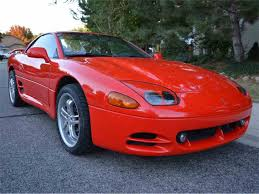 dodge stealth red 1995 mitsubishi 3000gt vr4 for sale classiccars com cc 1027955